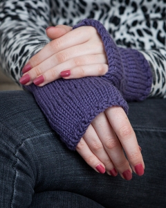 Knitted Wristwarmers