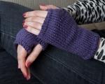 Knitted Wristwarmers