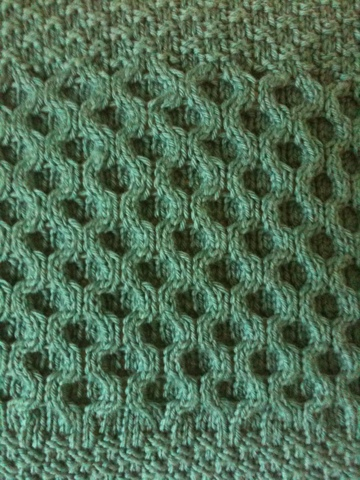 How To Knit Honeycomb Pattern : Knitting Novel Insights