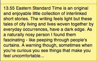 13:55 Eastern Standard Time