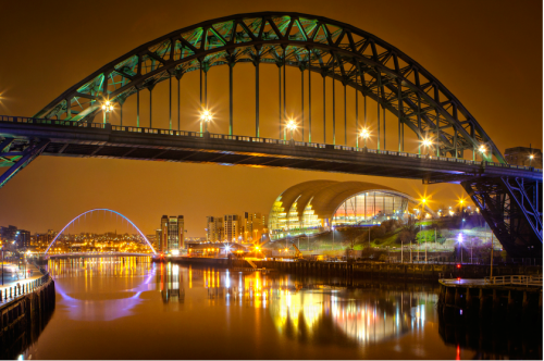 Newcastle Tyne Bridge, North East, UK